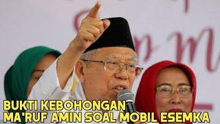 Video Mobil Esemka Nihil | Bukti Ma'ruf Amin Berbohong MP3, 3GP, MP4, WEBM, AVI, FLV Februari 2019
