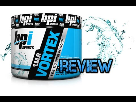 1MR Vortex by BPI Sports Pre Workout Review