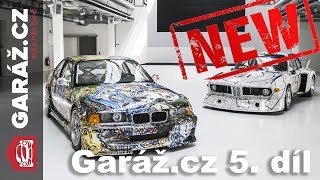 Video GARÁŽ.cz 01x05: BMW Art Cars, Ford Escort RS Cosworth, Mazda MX-5 vs. Subaru BRZ, Driving Experience MP3, 3GP, MP4, WEBM, AVI, FLV Juni 2018