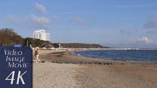 Timmendorfer Strand Germany  city photos gallery : German Seaside Resorts: Timmendorfer Strand, Niendorf, Scharbeutz - 4K Video (2160p)