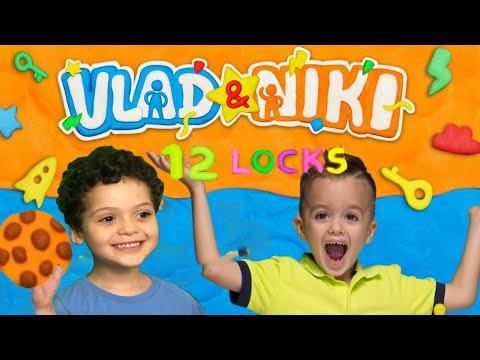 Vlad And Niki 12 Locks Puzzle 1