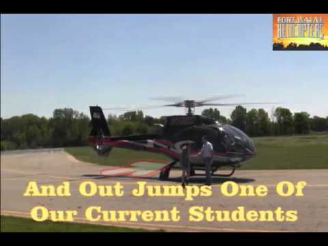 Eurocopter EC-130 Helicopter Landing:...