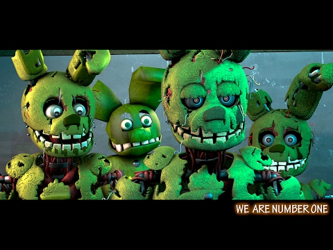 We Are Number One But It's Springtrap Model [FNAF SFM]