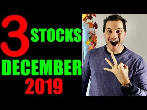 3 Stocks Im Buying Now! December 2019!