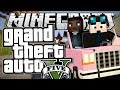 Minecraft | Grand Theft Auto (GTA) | INDESTRUCTIBLE PINK CAR! | Mods Showcase