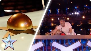 Video Simon Cowell's BEST GOLDEN BUZZERS | Britain's Got Talent MP3, 3GP, MP4, WEBM, AVI, FLV Oktober 2018