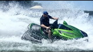 2. Riding a Kawasaki Jetski Ultra 310LX  Supercharged 310hp