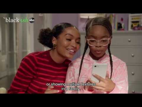 "Behind The Scenes with blackish's Marsai Martin - ""Hair Day"" Episode"