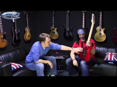 ibanez - Chappers & the Captain review the new Ibanez RG550XH guitar with 30 frets!! See how fast Chappers can play when the frets are only a couple mm apart! This gr...