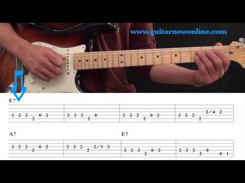 Beginning Blues Guitar Lesson – Blues Guitar Level 1