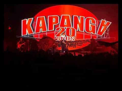 Kapanga video Caballero rojo - Luna Park 2015 - 20 Años