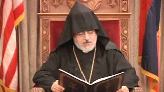 Christmas messages from Archbishops Khajag Barsamian and Oshagan Choloyan, 2012