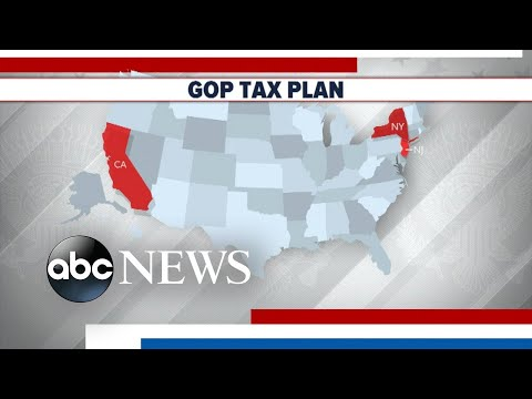 Americans could see tax bill impact in early 2018