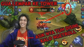 Download Video NGETROLL PAKEK HERO BARU DI RANKED - LEMPAR KE TOWER LEMPAR LEMPAR KE MUSUH MP3 3GP MP4