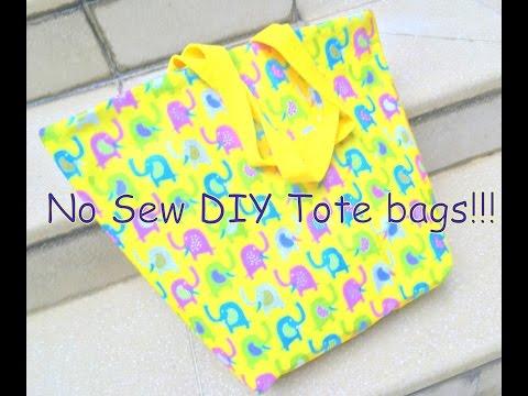 NO Sew Bag