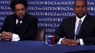 """Face The Nation with Bob Schieffer - Cornel West and Tavis Smiley on America's """"warped priorities"""""""