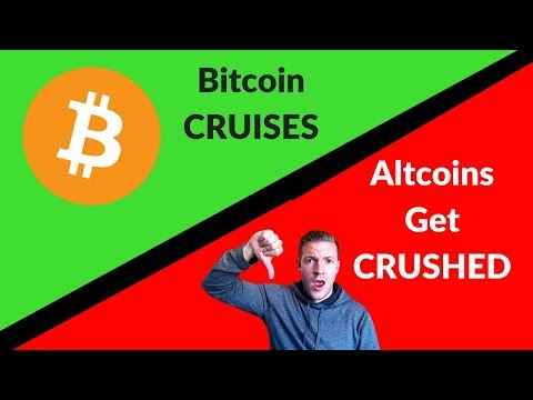 Bitcoin Cruises Up, While Altcoins BLEED Out video