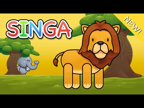 Lagu Anak Indonesia   Singa