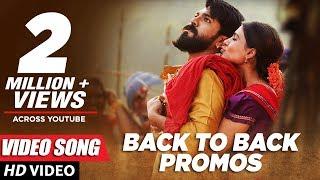 Video Rangasthalam Video Song Promos Back to Back - Ram Charan, Samantha, Pooja Hegde MP3, 3GP, MP4, WEBM, AVI, FLV April 2018