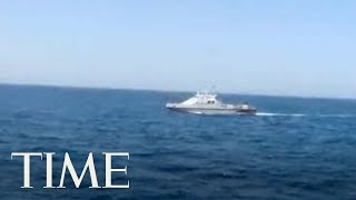 A U.S. Navy patrol boat fired warning shots Tuesday near an Iranian vessel that American sailors said came dangerously close to them during a tense encounter in the Persian Gulf, the first such incident to happen under President Donald Trump.Subscribe to TIME ►► http://po.st/SubscribeTIME Get closer to the world of entertainment and celebrity news as TIME gives you access and insight on the people who make what you watch, read and share.https://www.youtube.com/playlist?list=PL2EFFA5DB900C633F Money helps you learn how to spend and invest your money. Find advice and guidance you can count on from how to negotiate, how to save and everything in between.https://www.youtube.com/playlist?list=PLYOGLpQQfhNKdqS_Wccs94rMHiajrRr4W Find out more about the latest developments in science and technology as TIME's access brings you to the ideas and people changing our world.https://www.youtube.com/playlist?list=PLYOGLpQQfhNIzsgcwqhT6ctKOfHfyuaL3 Let TIME show you everything you need to know about drones, autonomous cars, smart devices and the latest inventions which are shaping industries and our way of livinghttps://www.youtube.com/playlist?list=PL2862F811BE8F5623 Stay up to date on breaking news from around the world through TIME's trusted reporting, insight and accesshttps://www.youtube.com/playlist?list=PLYOGLpQQfhNJeIsW3A2d5Bs22Wc3PHma6CONNECT WITH TIMEWeb: http://time.com/Twitter: https://twitter.com/TIMEFacebook: https://www.facebook.com/time Google+: https://plus.google.com/+TIME/videosInstagram: https://www.instagram.com/time/?hl=enMagazine: http://time.com/magazine/Newsletter: time.com/newsletterABOUT TIMETIME brings unparalleled insight, access and authority to the news. A 24/7 news publication with nearly a century of experience, TIME's coverage shapes how we understand our world. Subscribe for daily news, interviews, science, technology, politics, health, entertainment, and business updates, as well as exclusive videos from TIME's Person of the Year, TIME 100 and more created by TIME's acclaimed writers, producers and editors.United States Navy Patrol Boat Fires Warning Shots Near An Iranian Ship In The Persian Gulf  TIMEhttps://www.youtube.com/user/TimeMagazine