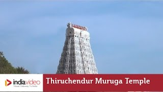 Tuticorin India  City new picture : Thiruchendur Murugan Temple At Tuticorin | India Video
