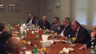 بدء اجتماع وزراء خارجية الدول الاربعة لدي الأمم المتحدة بنيويورك