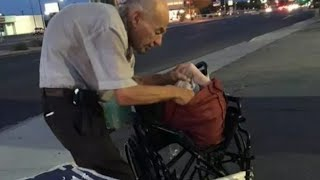 Video Drivers Passed This Old Man On The Street Every Night  Then A Woman Stopped To Ask Him Who He Is MP3, 3GP, MP4, WEBM, AVI, FLV September 2018
