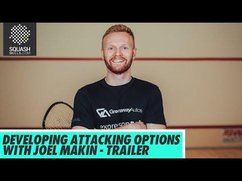 Squash Coaching: Developing Attacking Options With Joel Makin