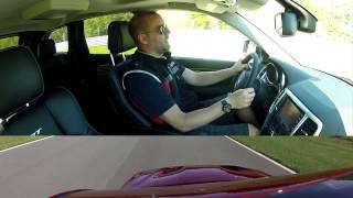 2012 Jeep Grand Cherokee SRT8 - Track Test Drive And Quick Review