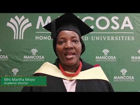 MANCOSA Virtual Graduation October 2020 session 1