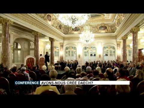 Conférence d'Antoine Sfeir : « Avons-nous créé Daech ? »