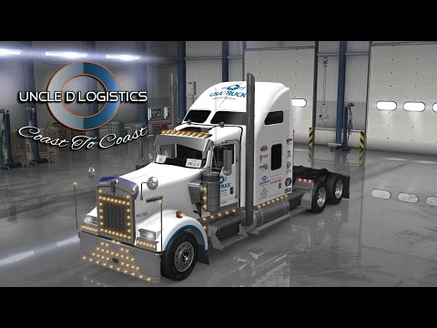 Uncle D Logistics USA Truck W900 Skin V1.0