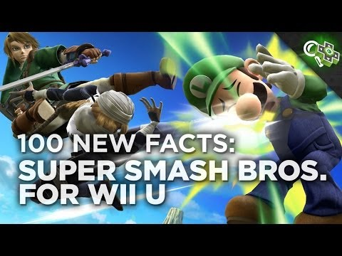 NEW - Nick got to go hands-on with three hours of SUPER SMASH BROS FOR WII U and came back with tons of footage! Here's a list he compiled of 100 new things he learned during his time playing the...