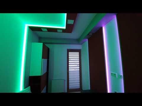 Aranżacja pokoju dziecka - taśmy LED