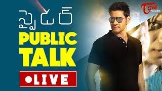 Video SPYDER Public Talk LIVE from Prasads IMAX | Mahesh Spyder Hit or Flop ? MP3, 3GP, MP4, WEBM, AVI, FLV Oktober 2017