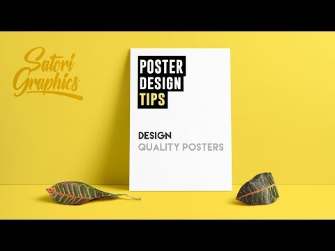 How To Design A Quality Poster | Poster Designing Tips
