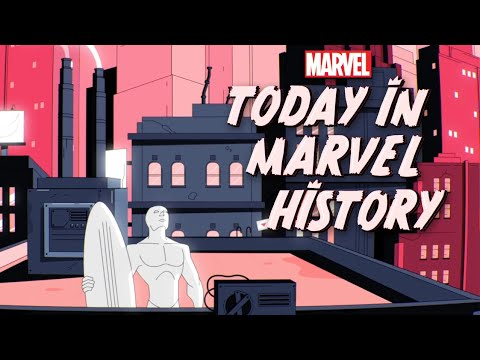 Today In Marvel History: Silver Surfer and Galactus Arrive on Earth!