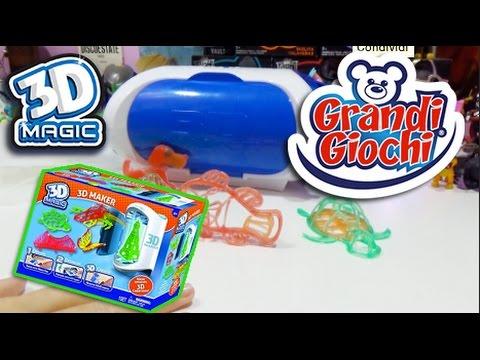 Creazioni in 3D con 3D MAGIC - Grandi Giochi - La mia prima prova con il 3D!