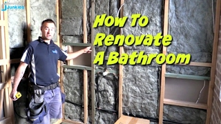 How To Renovate A Bathroom - Part 1