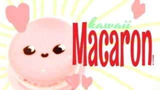 ◕‿‿◕ Macaron! Kawaii Friday 53 (Tutorial in Polymer Clay) - YouTube