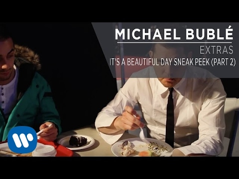 sneak peek new music - Michael Bublé takes some time out of his busy schedule to share a second sneak peek of his new single