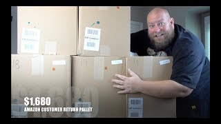 I bought a $1,680 Amazon Customer Returns Pallet / Mystery Boxes