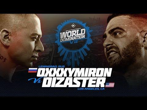 Oxxxymiron (RU) Vs Dizaster (USA) (С русскими субтитрами)