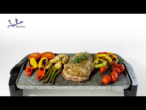 Video: Stolní keramický gril Jata GR 558, granit + DÁREK GRILOVACÍ SADA B1530174