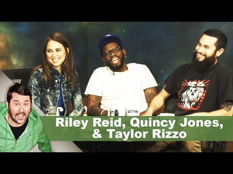 Riley Reid, Quincy Jones, & Taylor Rizzo   Getting Doug with High (видео)