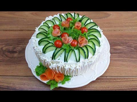 smorgastarta torta sandwich senza cottura - ricetta