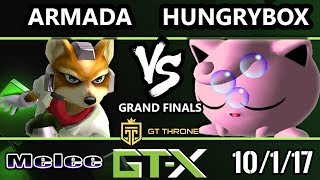 Video GTX 2017 Melee - [A]rmada (Fox) vs Liquid'Hungrybox (Jigglypuff) - SSBM G.Finals MP3, 3GP, MP4, WEBM, AVI, FLV Oktober 2017