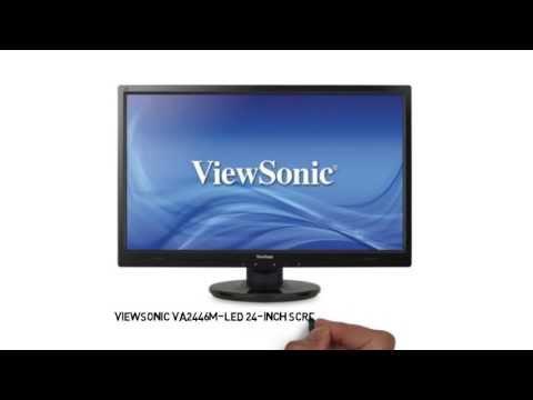 ViewSonic VA2446M-LED 24-Inch Screen LED-Lit Monitor