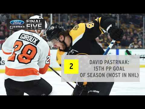Video: Ford Final Five Facts: Flyers Rally To Beat Bruins In Overtime