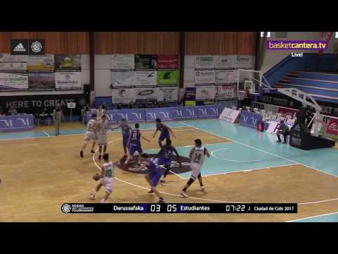 ANGT Coin: U18 Darussafaka Dogus Istanbul vs. U18 Movistar Estudiantes Madrid - Full Game
